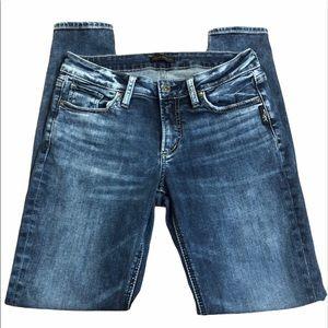 Size 27 Silver Jeans Elyse Skinny